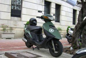 Suzuki_Vecstar_125_in_Taipei_20071230